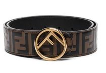 FENDI Casual Style Leather Office Style Logo Belts