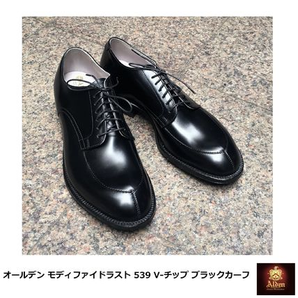 ALDEN MODIFIED LAST Oxfords