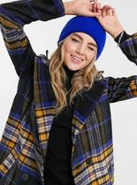 ASOS Other Plaid Patterns Long Chester Coats