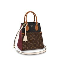 Louis Vuitton Monogram Casual Style Canvas Leather Office Style