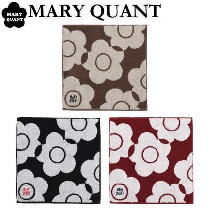 MARY QUANT Flower Patterns Cotton Handkerchief