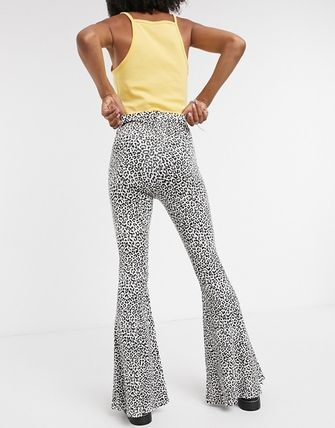 ASOS Leopard Patterns Casual Style Skinny Pants