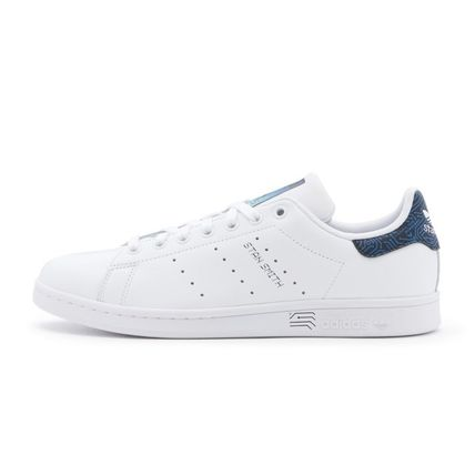 adidas STAN SMITH Logo Rubber Sole Casual Style Unisex Faux Fur Plain Leather