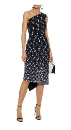 Peter Pilotto Dots Casual Style Street Style Medium Office Style Asymmetry