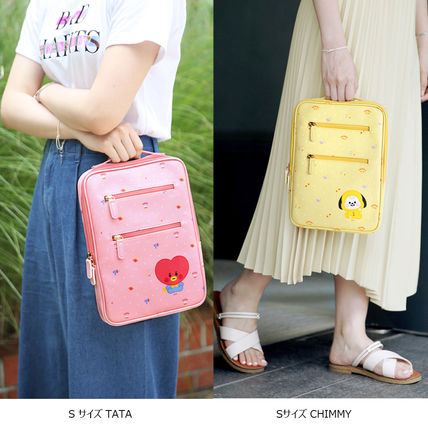 BT21 Casual Style Street Style Bags