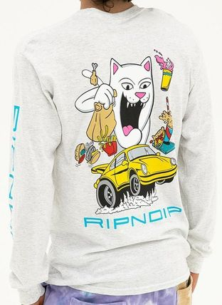 RIPNDIP Long Sleeve Street Style U-Neck Long Sleeves Long Sleeve T-shirt 3
