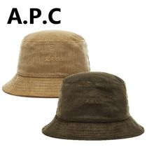 A.P.C. Street Style Bucket Hats Wide-brimmed Hats