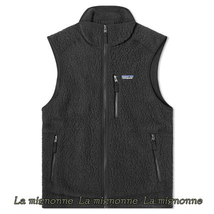 Patagonia Street Style Plain Logo Outdoor Vests & Gillets