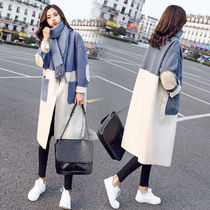 Bi-color Long Chester Coats