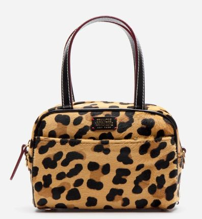 Leopard Patterns Casual Style 2WAY Plain Elegant Style