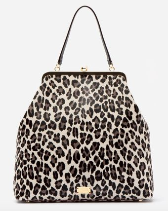 Leopard Patterns Casual Style 2WAY Office Style Crossbody