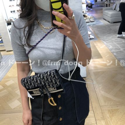 Christian Dior Slim Saddle Pouch
