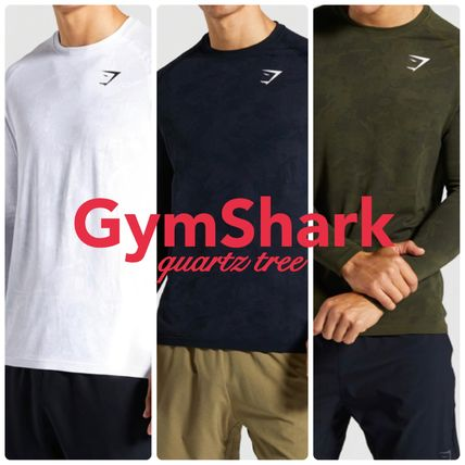 GymShark Long Sleeve Camouflage Long Sleeves Long Sleeve T-shirt Workout