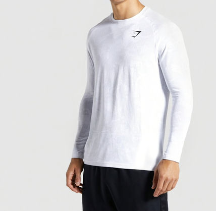 GymShark Long Sleeve Camouflage Long Sleeves Long Sleeve T-shirt Workout 2