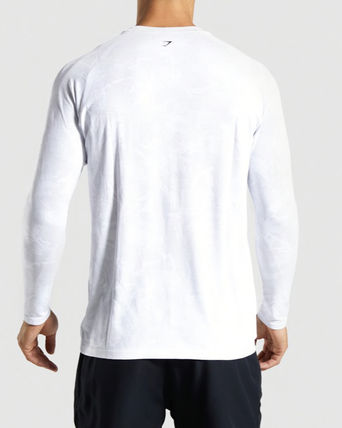 GymShark Long Sleeve Camouflage Long Sleeves Long Sleeve T-shirt Workout 3
