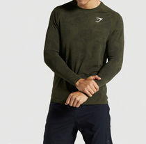 GymShark Long Sleeve Camouflage Long Sleeves Long Sleeve T-shirt Workout 8