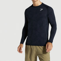 GymShark Long Sleeve Camouflage Long Sleeves Long Sleeve T-shirt Workout 14