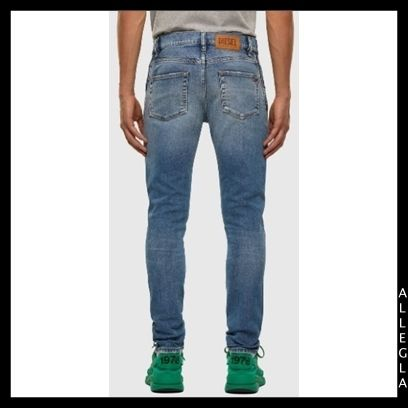 DIESEL More Jeans Denim Plain Cotton Logo Jeans 3
