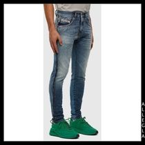 DIESEL More Jeans Denim Plain Cotton Logo Jeans 4