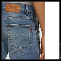 DIESEL More Jeans Denim Plain Cotton Logo Jeans 6