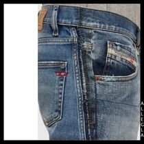 DIESEL More Jeans Denim Plain Cotton Logo Jeans 7