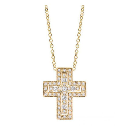 Unisex Street Style Chain Plain 18K Gold Necklaces & Chokers