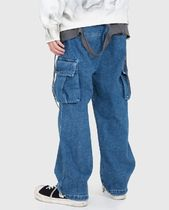 Raucohouse More Jeans Slax Pants Denim Street Style Collaboration Plain Jeans 7