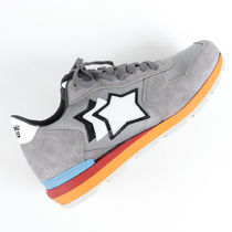 Atlantic STARS Star Driving Shoes Unisex Suede Blended Fabrics Street Style
