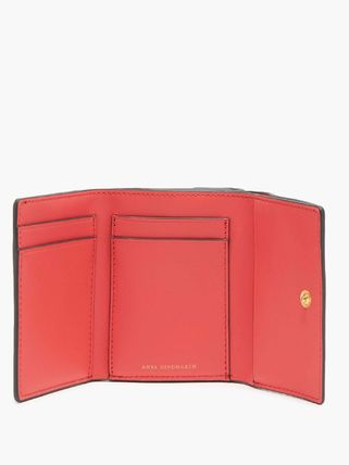 Leather Folding Wallet Small Wallet Card Holders