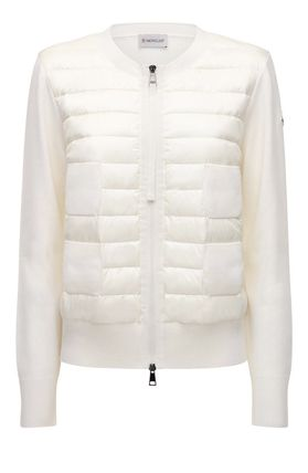 MONCLER CARDIGAN Short Plain Down Jackets