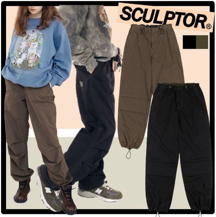 SCULPTOR Casual Style Unisex Street Style Pants