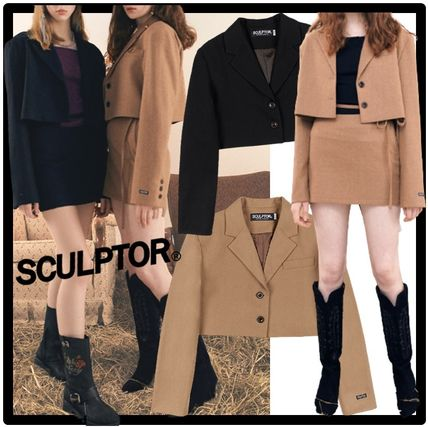 SCULPTOR Casual Style Street Style Jackets