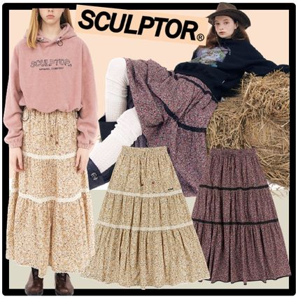 SCULPTOR Casual Style Street Style Skirts