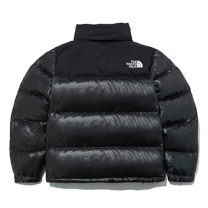 THE NORTH FACE Nuptse Unisex Street Style Logo Down Jackets