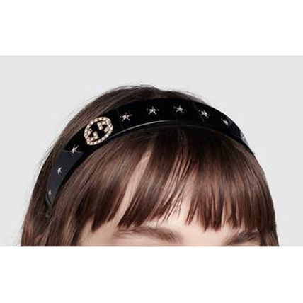 GUCCI Formal Style  Star Party Style Elegant Style Headbands