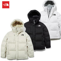 THE NORTH FACE SUPER AIR DOWN Short Unisex Blended Fabrics Street Style Logo Down Jackets