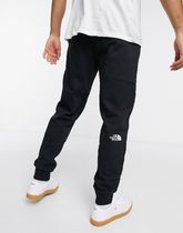 THE NORTH FACE Street Style Plain Cotton Logo Loungewear Pants