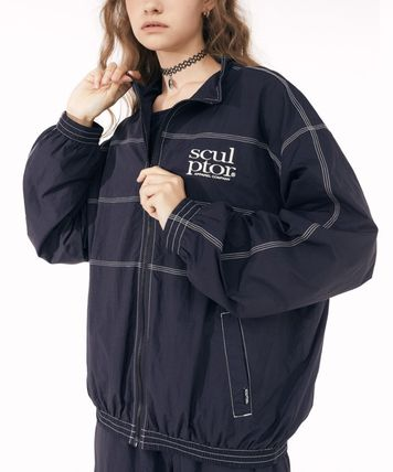 SCULPTOR Casual Style Unisex Street Style Outerwear