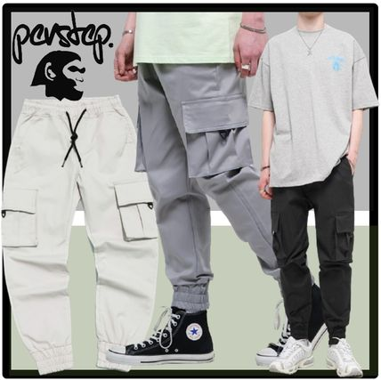 Casual Style Unisex Street Style Bottoms