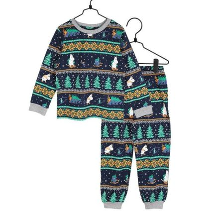 Unisex Holiday Themed Kids Girl Roomwear