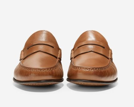 Cole Haan Loafers Suede Plain Leather Loafers & Slip-ons