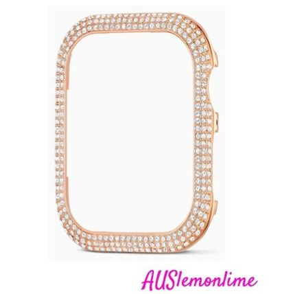 SWAROVSKI Casual Style Party Style Apple Watch Belt Accessories