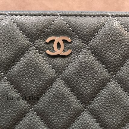 CHANEL MATELASSE Classic Long Zipped Wallet