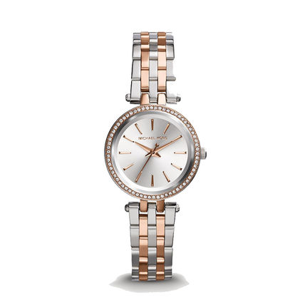 Michael Kors Round Formal Style  Party Style Quartz Watches Stainless