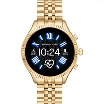 Michael Kors Casual Style Unisex Blended Fabrics Street Style Metal Round