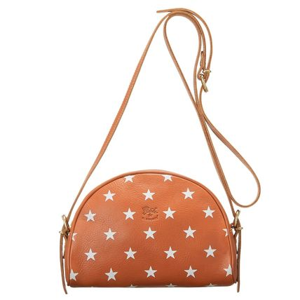 Star Casual Style Crossbody Logo Shoulder Bags