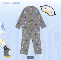 SPAO Unisex Collaboration Other Animal Patterns Cotton Oversized