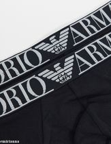 EMPORIO ARMANI Street Style Plain Cotton Co-ord Logo Briefs