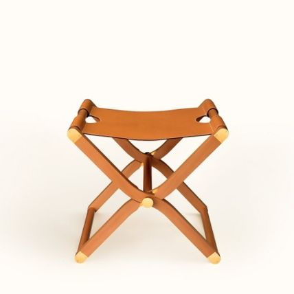 HERMES Wooden Furniture Blended Fabrics Table & Chair