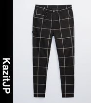 ZARA Other Plaid Patterns Street Style Men Skinny Pants